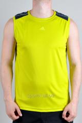 Безрукавка Adidas желтая