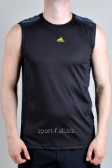 Безрукавка Adidas черный с серым