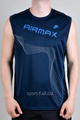 Безрукавка Nike Airmax синяя