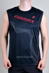 Безрукавка Nike Airmax черная с рисунком