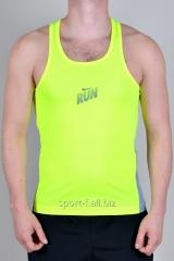 Майка Nike RUN спортивная мужская желтая