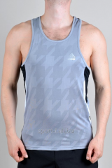 Adidas undershirt man's gray with black