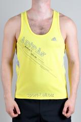 Майка Adidas желтая мужская
