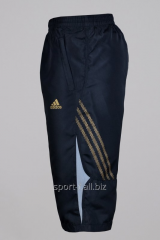 Бриджи Adidas черные