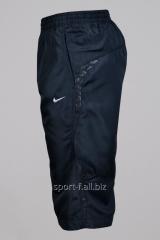 Бриджи Nike черные со вставками