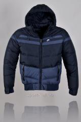 Куртка черная короткая Nike