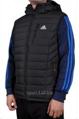 Жилет мужской черный  Adidas