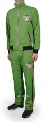 Спортивный костюм мужской Paul Shark зеленый на молнии