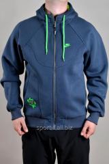 Спортивная кофта Nike зимняя синяя