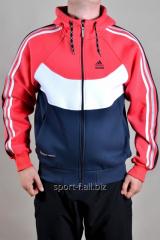 Спортивная кофта Adidas зимняя мужская