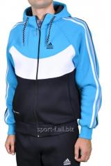 Спортивная кофта Adidas зимняя на молнии