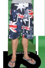 Пляжные шорты Quiksilver флаг