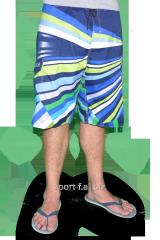 Пляжные шорты Quiksilver мужские синие