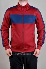 Мастерка Adidas красная мужская