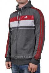 Мастерка Adidas мужская с капюшоном