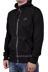 Мастерка мужская Nike черная на молнии