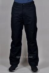 Зимние спортивные брюки мужские Adidas на флисе
