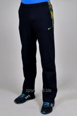 Брюки спортивные Nike черные с желтым