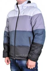 Пуховик Adidas разноцветный мужской
