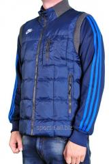 Жилет Nike синий мужской