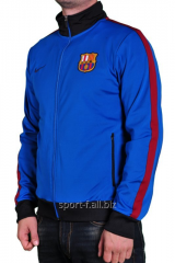 Trowel of Nike FC Barcelona blue with black cuffs