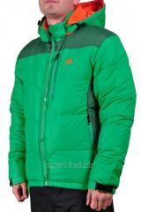 Куртка  Adidas зеленая
