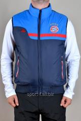 Жилет Adidas  Bayern München синий  мужской