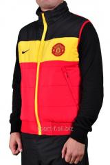 Жилет Adidas Nike Manchester United красно-черный