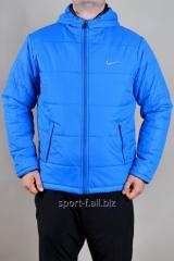 Ветровка мужская голубая  Nike