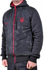 Спортивная кофта Nike зимняя черная
