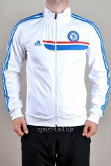Мастерка Adidas Chelsea белая