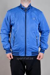 Ветровка мужская голубая Gant
