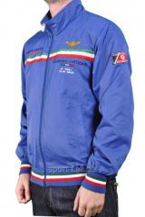 Ветровка спортивная мужская синяя Paul Shark