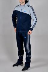 Зимний спортивный костюм Adidas трикотаж