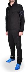 Зимний спортивный костюм Adidas черный мужской