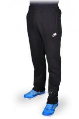 Штаны зимние спортивные Nike  черные