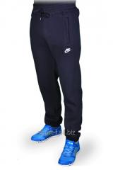 Зимние спортивные брюки на манжете Nike черный