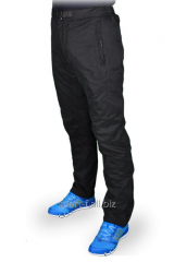 Зимние спортивные брюки Adidas черные