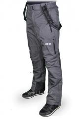 Winter Salomon overalls gray
