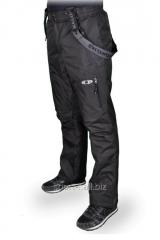 Winter overalls gray man's Salomon