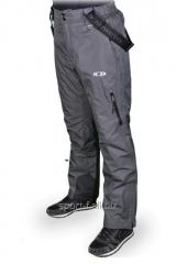 Winter Salomon overalls man's gray