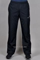Зимние спортивные брюки на флисе Adidas.