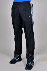 Брюки спортивные Adidas батал летние