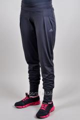 Спортивные брюки Adidas  на манжете летние