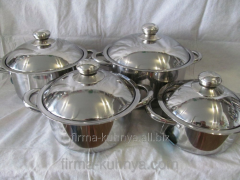Set of pans 1301