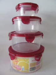 Set of containers for food 1233
