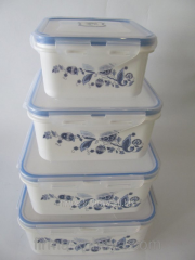 Set of containers for food 841