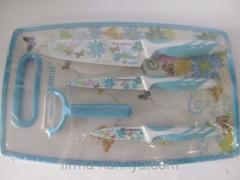 Set of knives 100 blue