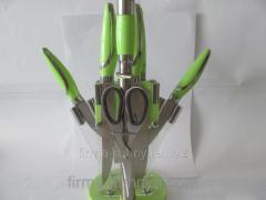 Set of knives 1167 green