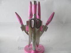 Set of knives 1167 pink